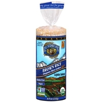 Lundberg Brown Rice Organic Rice Cakes Lightly Salted Food Product Image