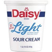 Daisy Light Sour Cream Food Product Image