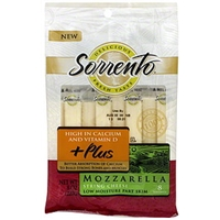 Sorrento String Cheese Mozzarella, High In Calcium And Vitamin D Food Product Image