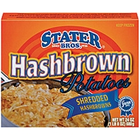 Stater Bros. Potatoes Shredded Hashbrowns Food Product Image