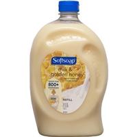 Softsoap Milk Protein & Honey Liquid Hand Soap Refill Food Product Image