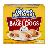 Hebrew National Kosher Beef Bagel Dogs Food Product Image