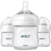 Philips Avent Natural Bottle - 4oz (3pk) Food Product Image
