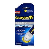 Compound W Wart Removal System Freeze Off Advanced Treatments - 15 CT Food Product Image