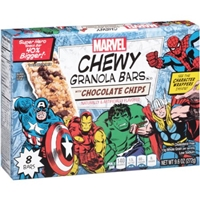 Marvel Chewy Granola Bars with Chocolate Chips, 8 ct, 9.6 oz Food Product Image