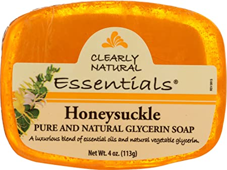 Clearly Natural Essentials Pure and Natural Glycerine Soap Honeysuckle Food Product Image