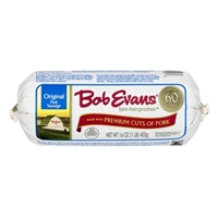 Bob Evans Original Pork Sausage Food Product Image