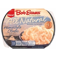 Bob Evans Natural Homestyle Classic Mashed Potatoes Food Product Image