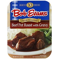 Bob Evans Slow Roasted Beef Pot Roast With Gravy Food Product Image