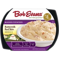 Bob Evans Mashed Potatoes Buttermilk Red Skin Food Product Image