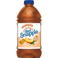 Diet Snapple Peach Tea Food Product Image