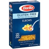 Barilla Pasta Elbows Gluten Free Food Product Image