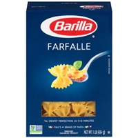 Barilla Pasta Farfalle Food Product Image