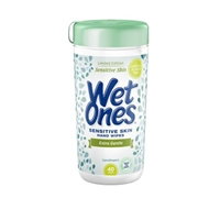 Wet Ones Fragrance Free Sensitive Skin Hand Wipes - 40 CT Food Product Image