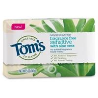 Tom's of Maine Fragrance Free Sensitive Bar Soap - 5oz Food Product Image