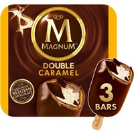 Magnum Double Caramel Ice Cream Bars - 3 CT Food Product Image