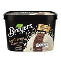 Breyers Ice Cream Cake Ice Cream Food Product Image