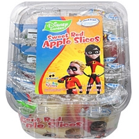 Crunch Pak Apple Slices Disney Sweet Red Food Product Image
