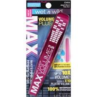 Wet n Wild Max Volume Plus Waterproof Mascara, Amp'd Black Food Product Image