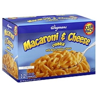 Wegmans Macaroni & Cheese Dinner Club Pack Food Product Image