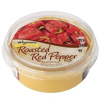 Wegmans Mediterranean Food Hummus, Roasted Red Pepper Food Product Image