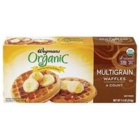 Wegmans Frozen Pancakes & Waffles Multigrain Waffles Food Product Image