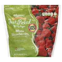 Wegmans Strawberries Whole, Family Pack Food Product Image