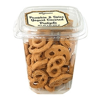 Wegmans Chips & Pretzels Pumpkin & Spice Yogurt Covered Pretzels Food Product Image