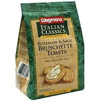 Wegmans Bruschette Toasts Rosemary & Sage Food Product Image
