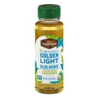 Madhava Organic Golden Light Blue Agave Low-Glycemic Sweetener Food Product Image