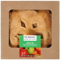 The Bakery at Walmart Double Crust Apple Pie, 24 oz Food Product Image