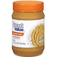 Great Value Soy Butter Peanut Free Food Product Image