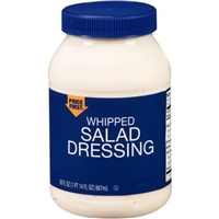 Price First Whipped Salad Dressing, 30 fl oz Food Product Image