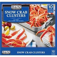 Daily Chef Food Service Snow Crab Clusters Food Product Image