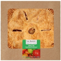 The Bakery at Walmart Apple Pie with Cinnamon, 39 oz Food Product Image