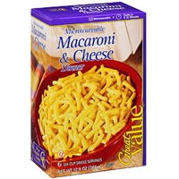 Great Value Pasta Macaroni & Cheese Food Product Image