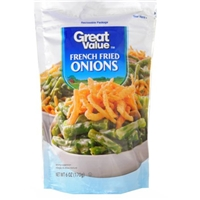 Great Value Onions French Fried Food Product Image