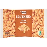 Great Value Hash Browns Southern Food Product Image