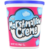 Great Value Great Value Marshmallow Crhme 7Oz 7Oz Marshmallow Crème Food Product Image