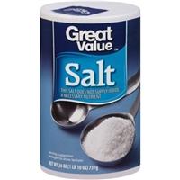 Great Value Seasoning Salt Food Product Image