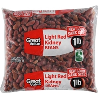 Great Value Beans Light Red Kidney Product Image