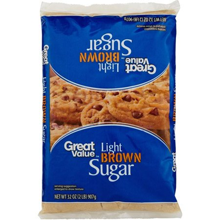 Great Value Brown Sugar Light Food Product Image