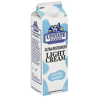 Upstate Farms Cream Light, Ultra-Pasteurized Food Product Image