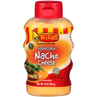 Ricos Squeezable Nacho Cheese Food Product Image