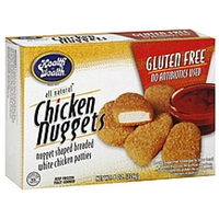 Health Is Wealth Chicken Nuggets Food Product Image