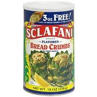 Sclafani Flavored Bread Crumbs Food Product Image