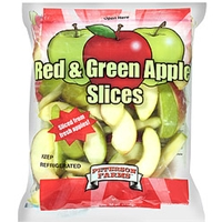 Peterson Farms Apple Slices Red & Green Food Product Image