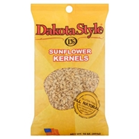 Dakota Style Sunflower Kernels, Roasted And Salted, 16 Ounce Food Product Image