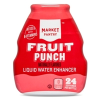 Liquid Water Enhancer Fruit Punch 1.62 oz - Market Pantry Food Product Image