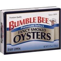 Bumble Bee Fancy Smoked Oysters Food Product Image